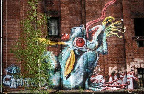 Brauerei Köpenick, Streetart-Künstler: Rö